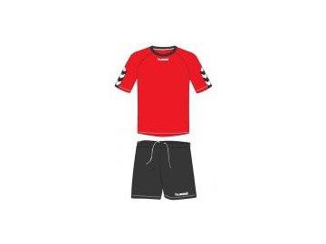 Hummel Authentic tréninková souprava - červená/černá