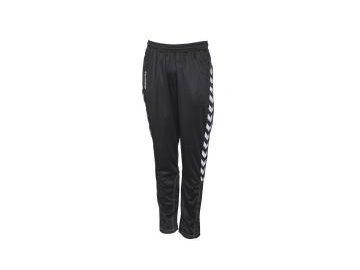 Hummel Authentic fotbalové kalhoty z polyesteru - černé
