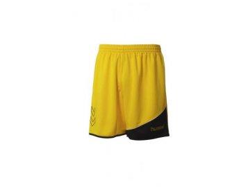 Hummel Grassroots trenýrky z polyesteru - žlutá/černá