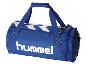 Hummel sportovní taška STAY AUTHENTIC - L, modrá bílá