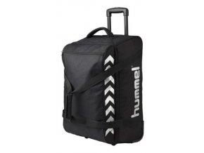 Hummel sportovní taška na kolečkách Authentic - M, černá