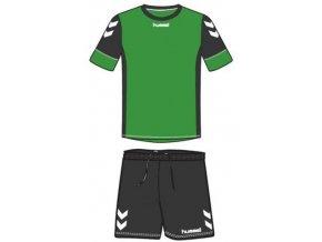 Hummel dres Spirit SMU tréninkový set - cadmium zelená/černá