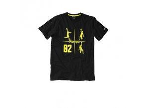 Kempa tričko CROSS - černé