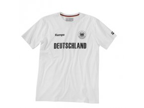 Kempa tričko Polo CORE - DHB - bílé