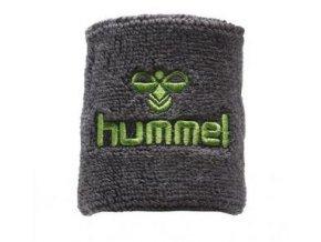 Hummel potítko Old School malé - tmavě šedá/lime zelená