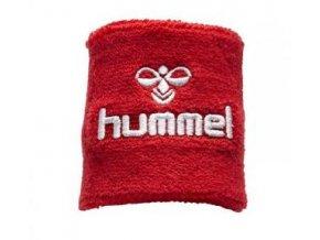 Hummel potítko Old School malé - červená/bílá