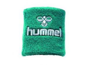 Hummel potítko Old School malé - zelená/bílá
