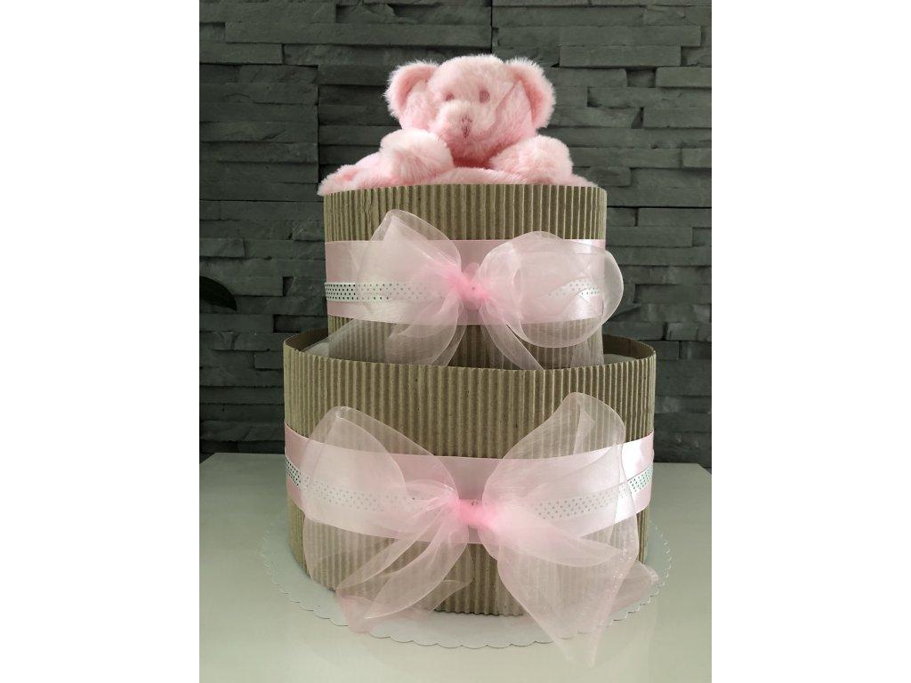 Plenkový dort - RŮŽOVÁ
