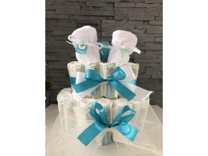 Plenkový dort BILÝ