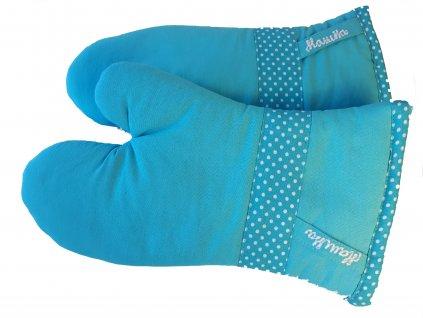 Kucyňské rukavice modré