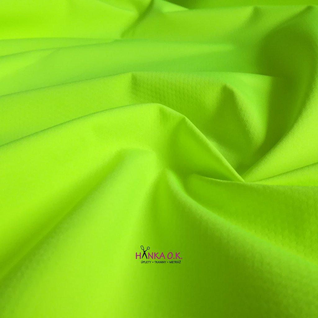 Softshell letní neon žlutá 200g