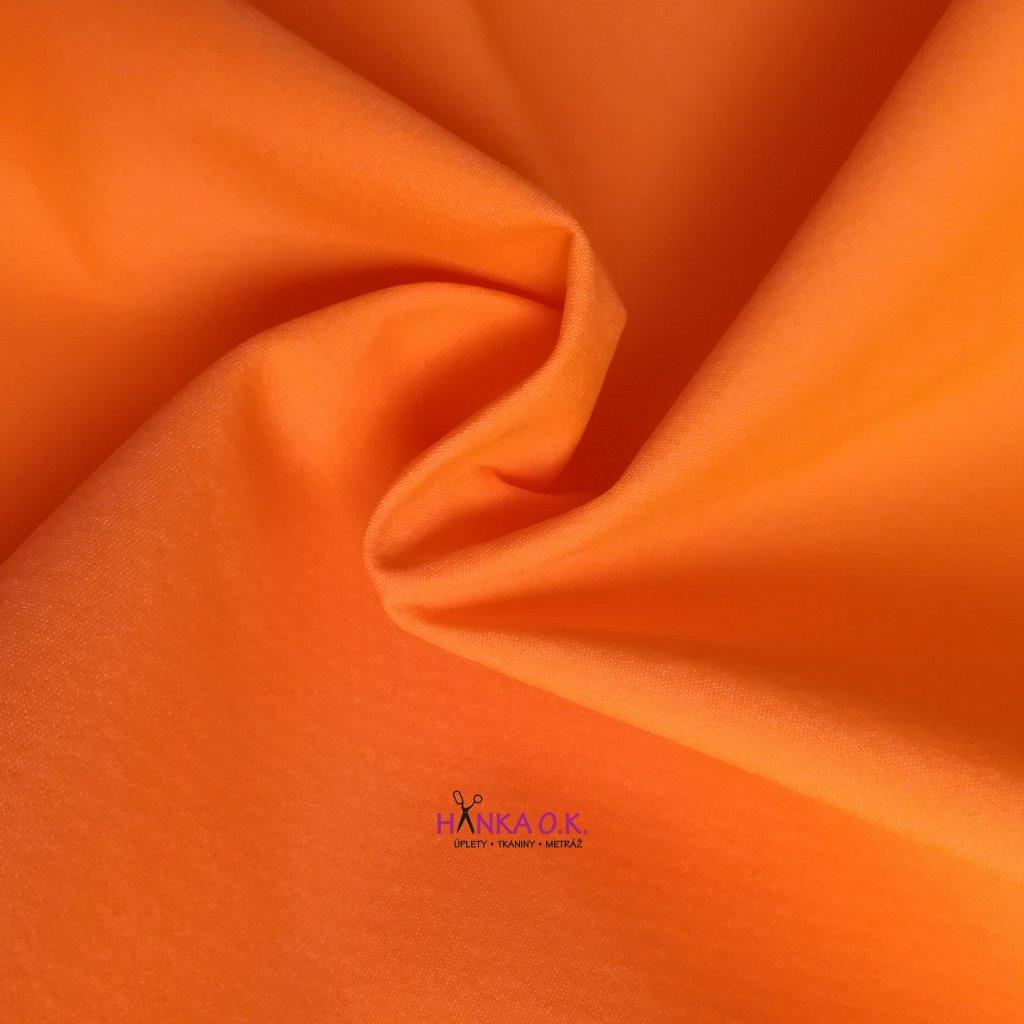 Softshell letní neon oranžová 200g