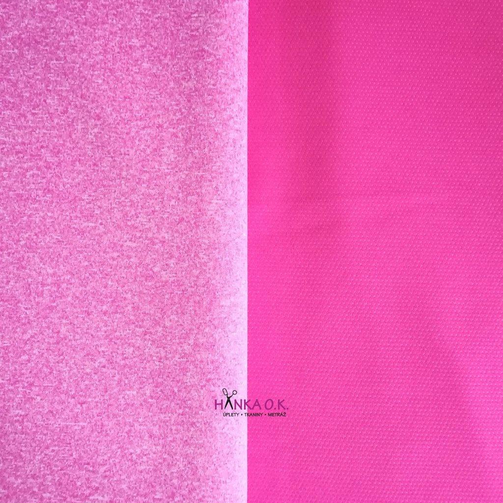 Softshell letní růžové melé 200g