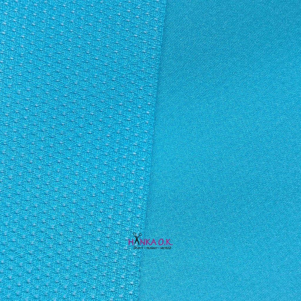 Softshell letní modrá světlá s membránou