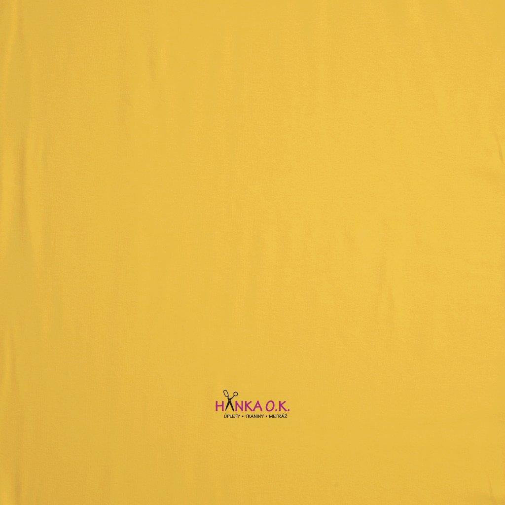 teplákovina žlutá french terryx