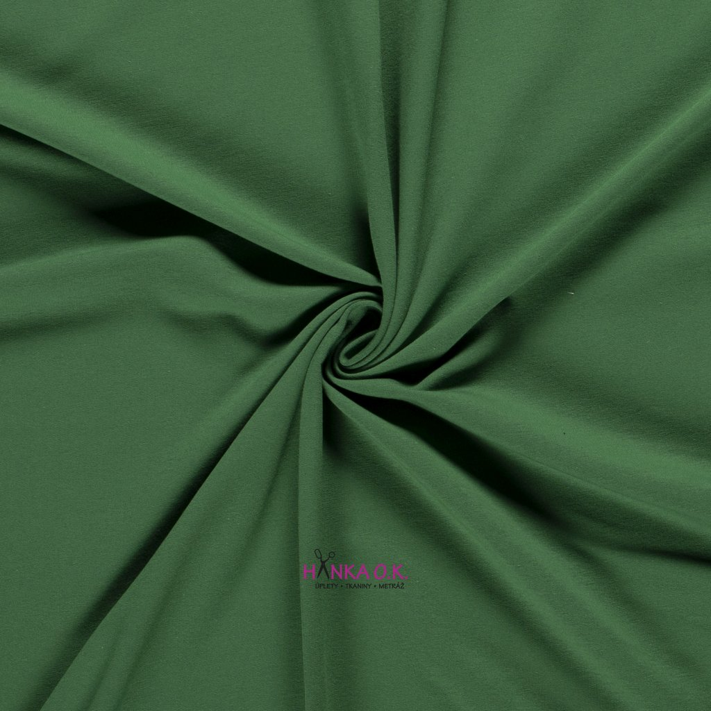 teplákovina zelená french terryx