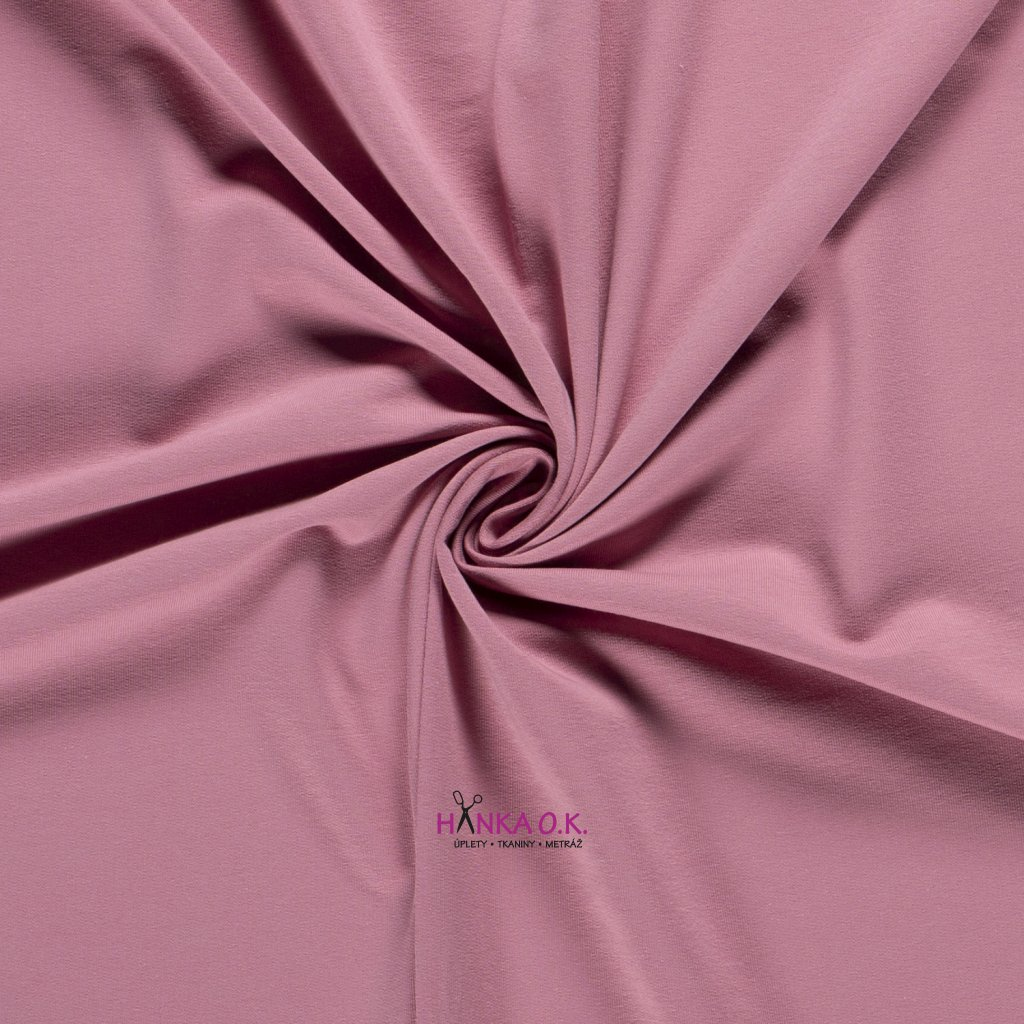 teplákovina frech terry růžová old pink