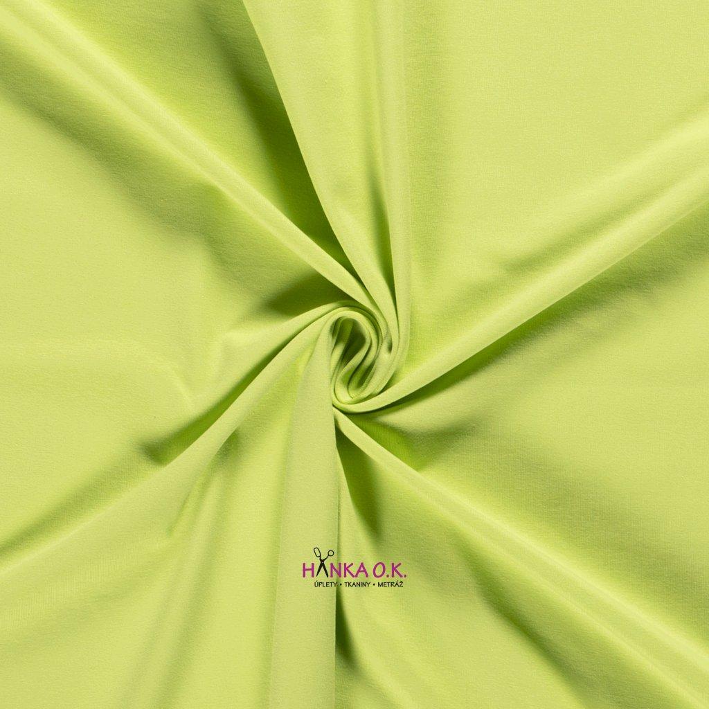 Úplet jednolícní zelená lime 235g