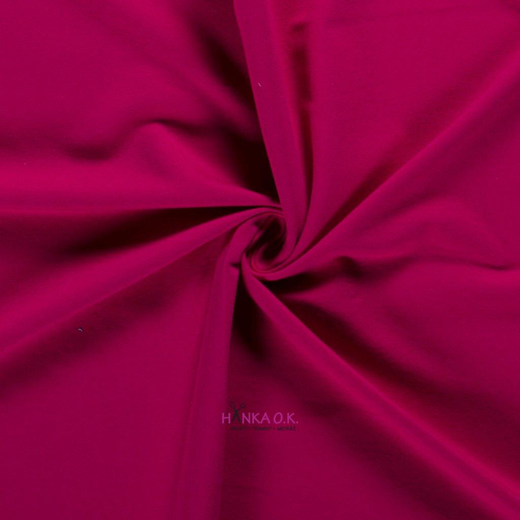 Teplákovina růžová fuchsia 250g