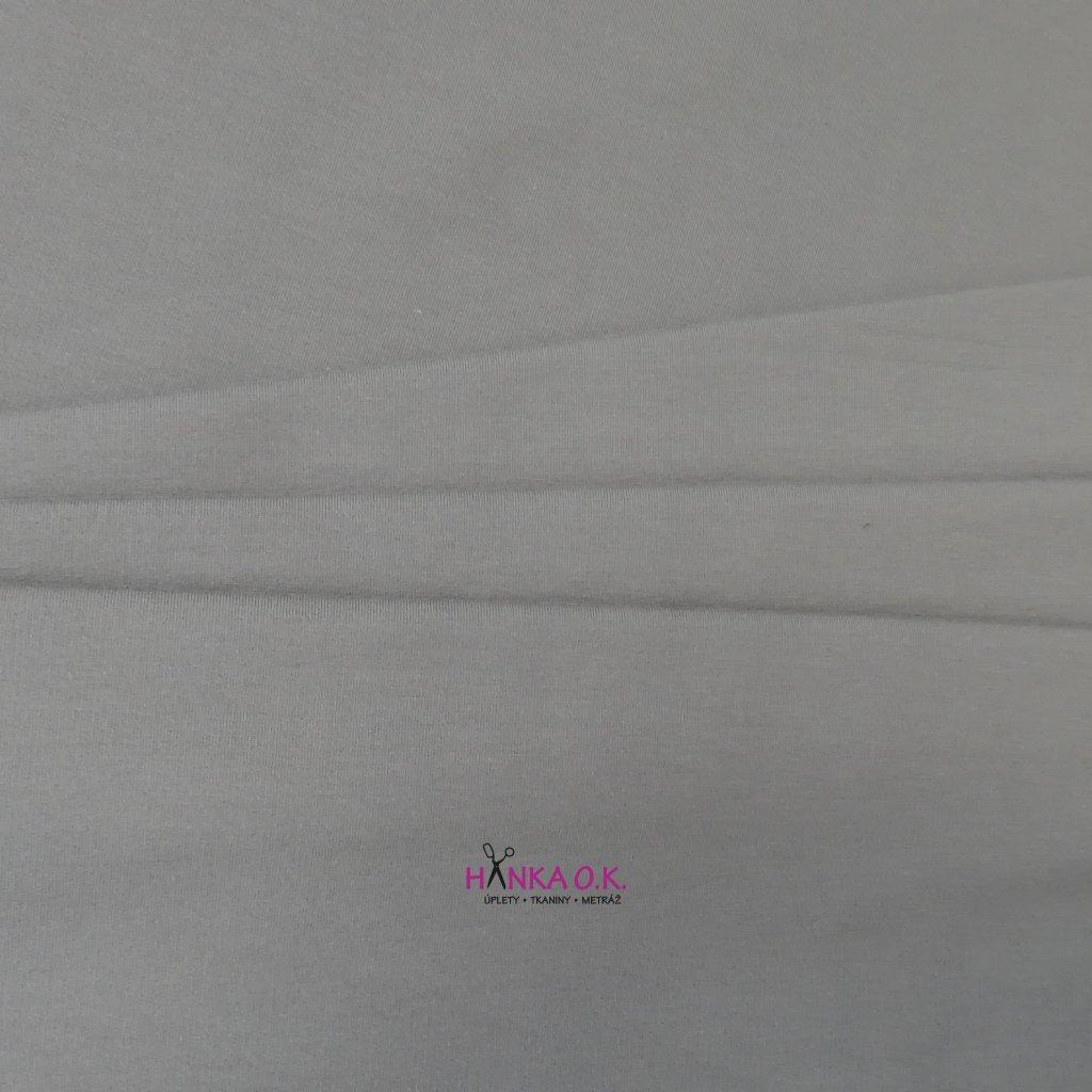 Teplákovina nepočesaná s elastanem gramáž 280g, šíře 180 cm