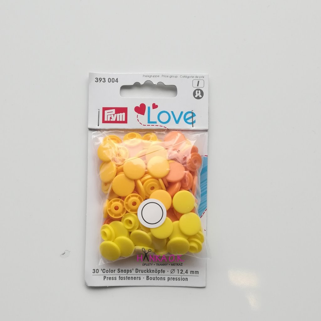 Color snaps Prym Love patentky