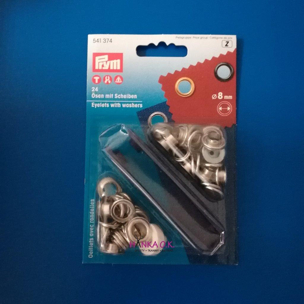 průchodky PRYM 8mm