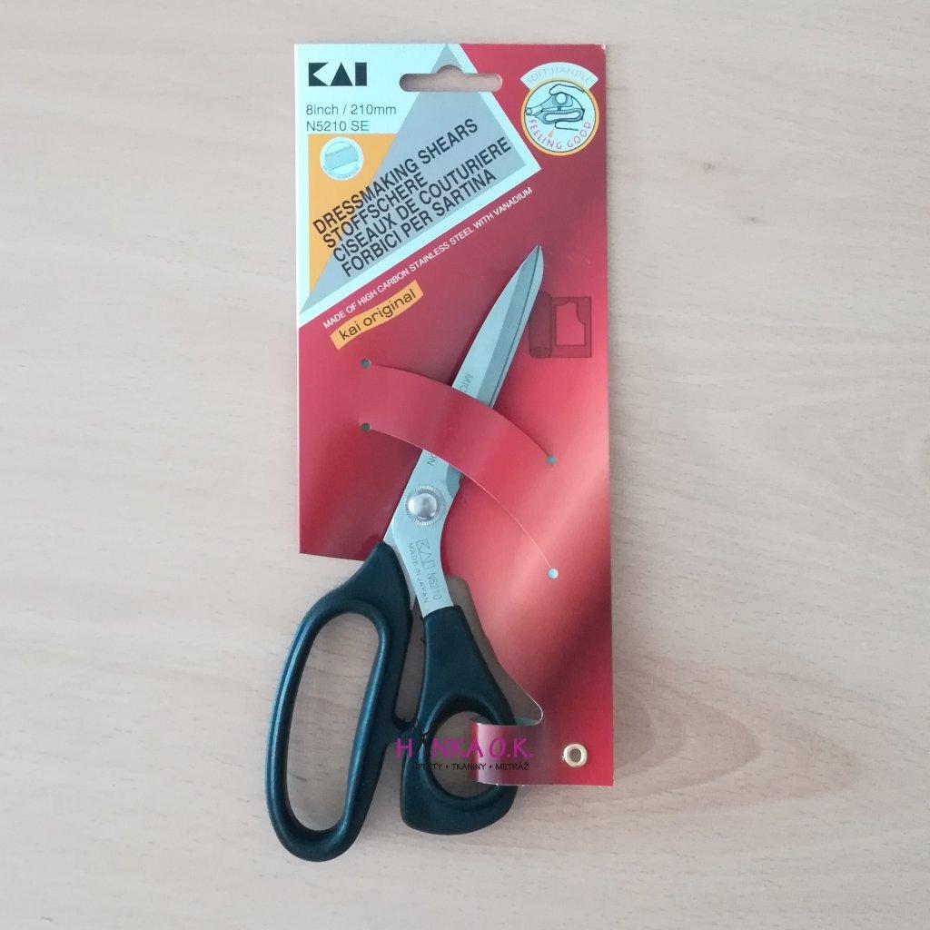 Nůžky KAI N5210 - délka 21cmm - s mikrozoubkem