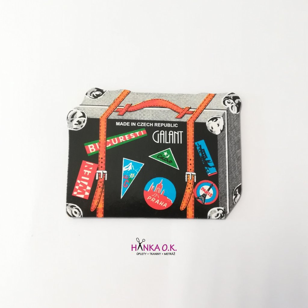 Jehly pro ruční šití - kufr