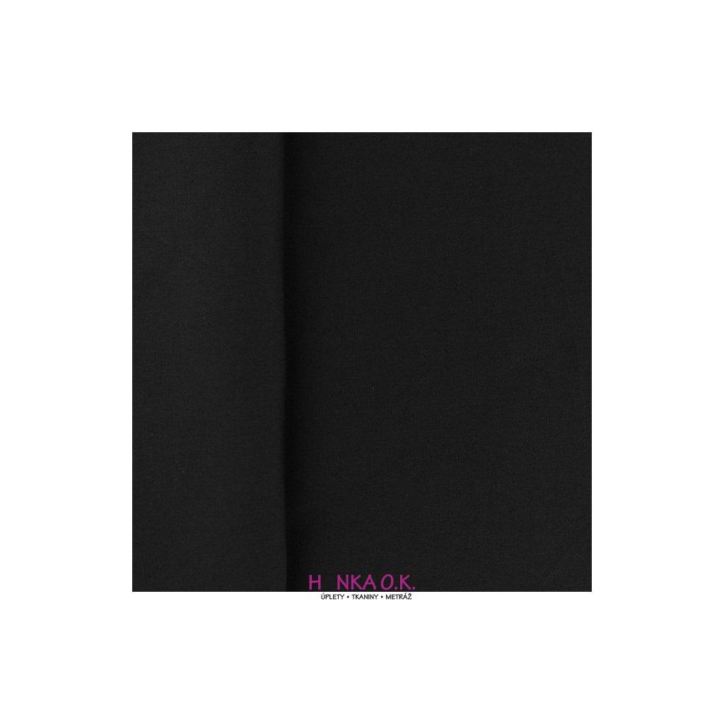 popelín černá