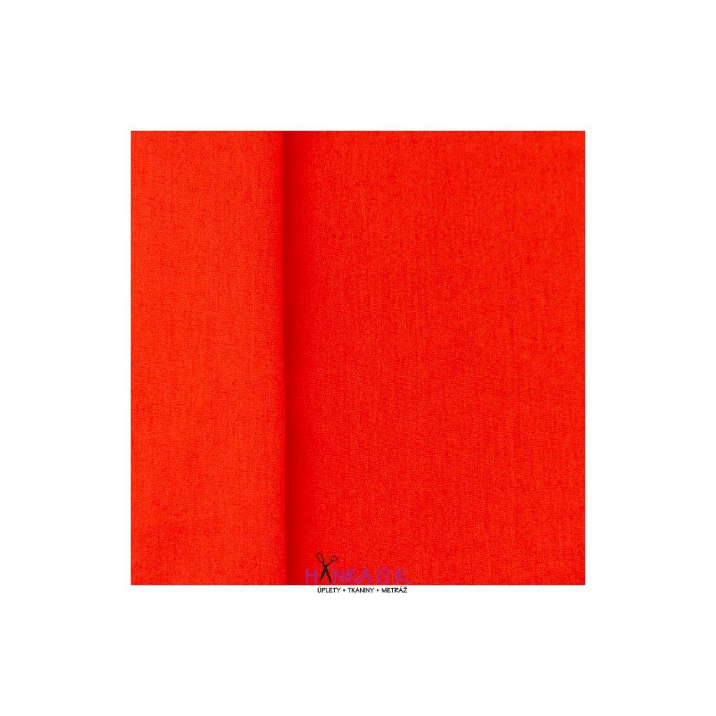 popelín červená tmavá