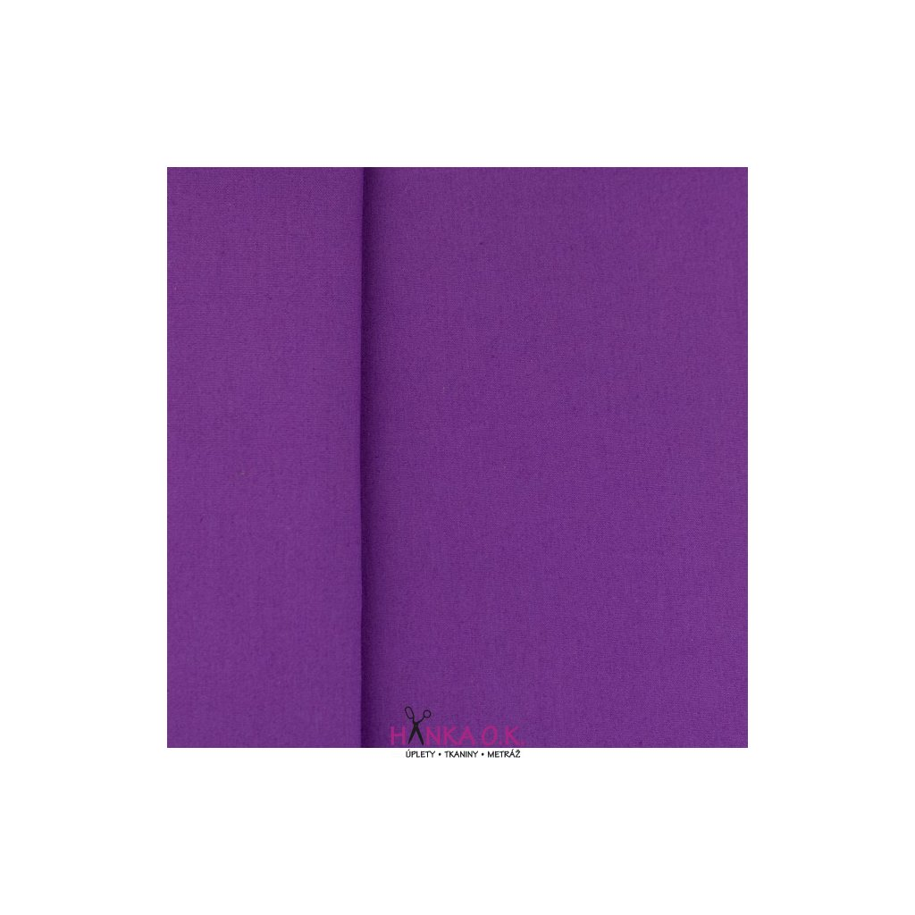 popelín fialová