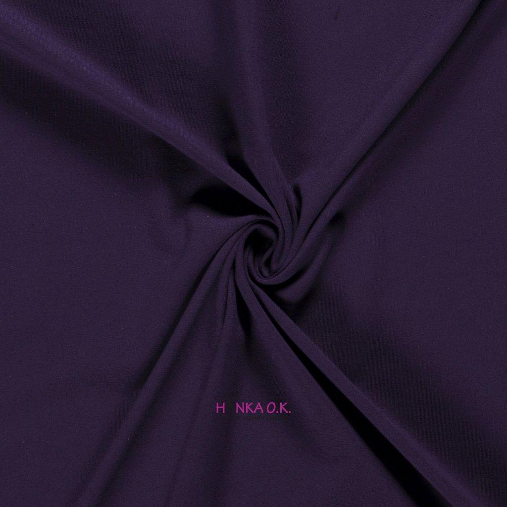 Úplet jednolícní fialová lilek 235g