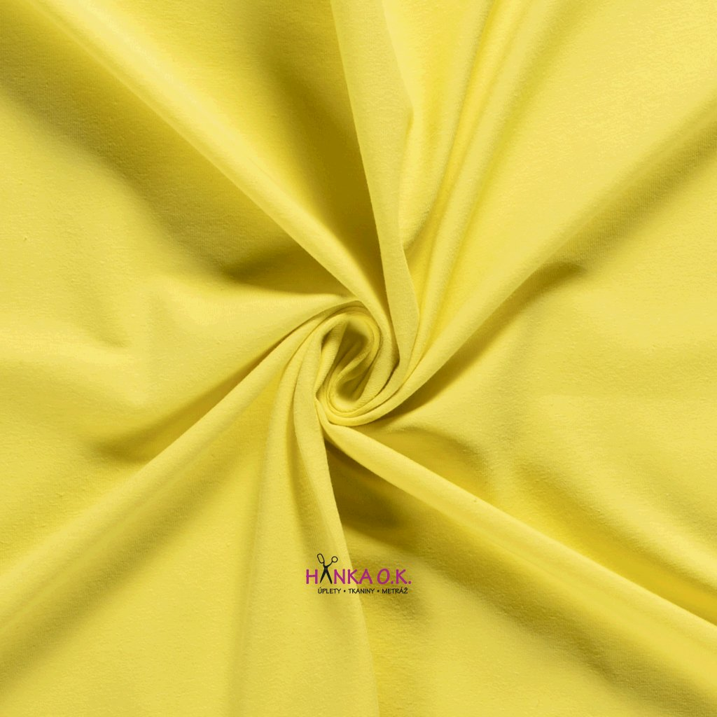 Úplet jednolícní žlutá 235g