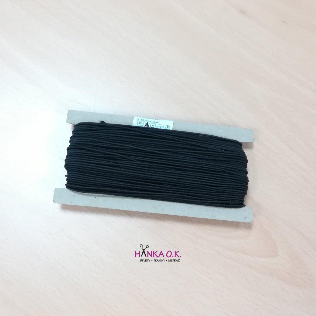 Klobouková guma 1,4 mm na kartě (balení 50m)