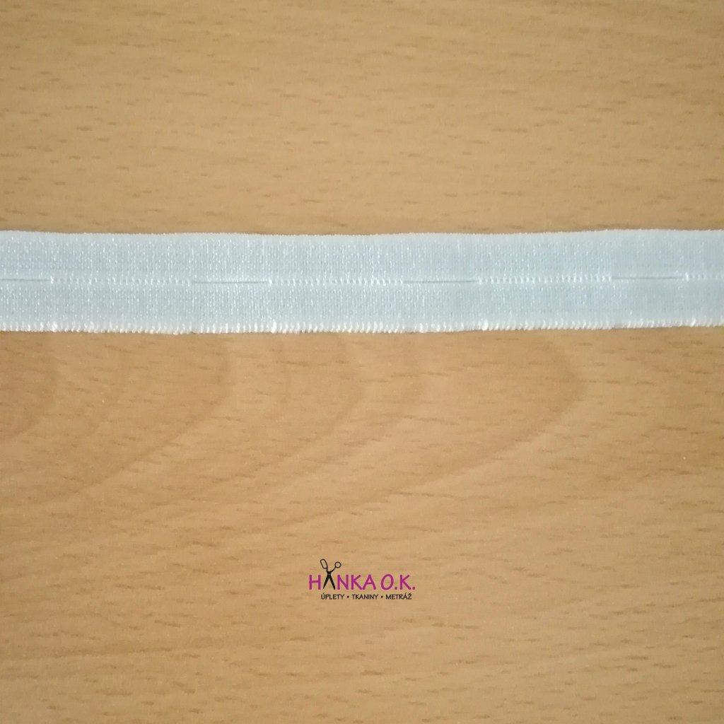 Dírková knoflíková guma - pruženka šíře 15mm