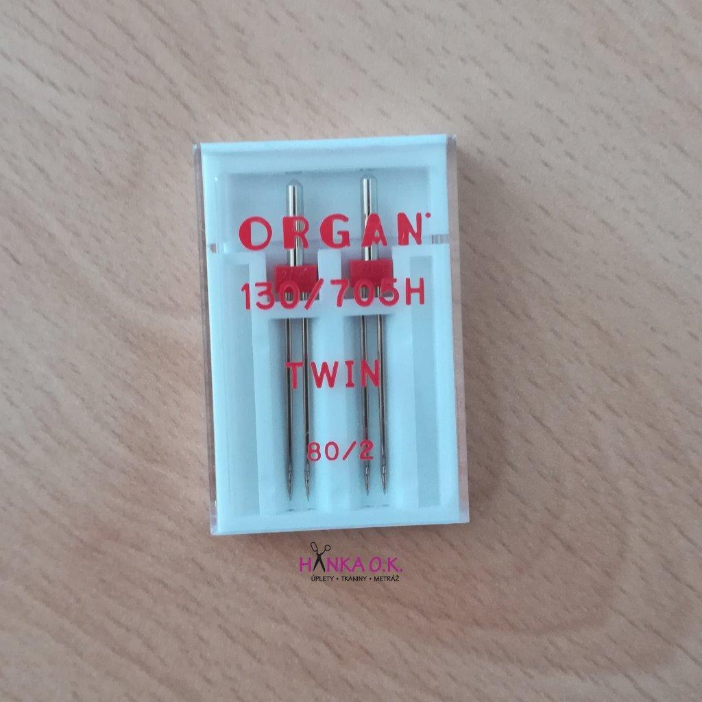 Dvojjehla ORGAN Twin 80/2 - 130/705H