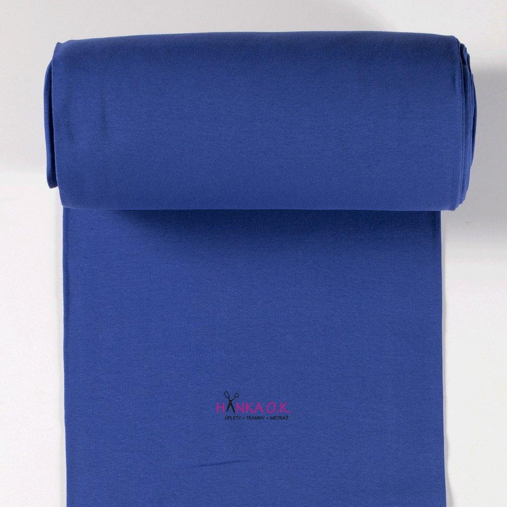 Náplet hladký modrá royal 2x35cm