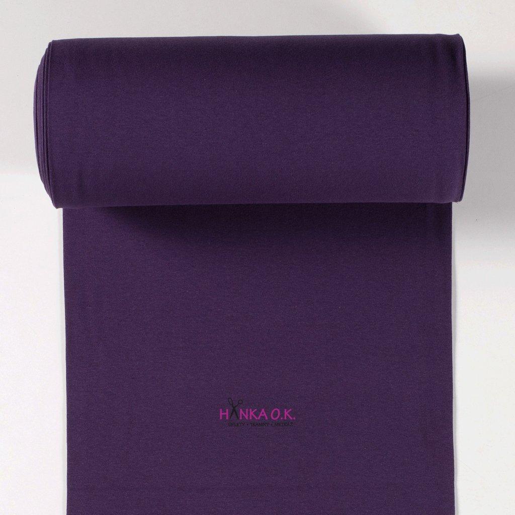 Náplet hladký fialová lilek tunel 2x35cm