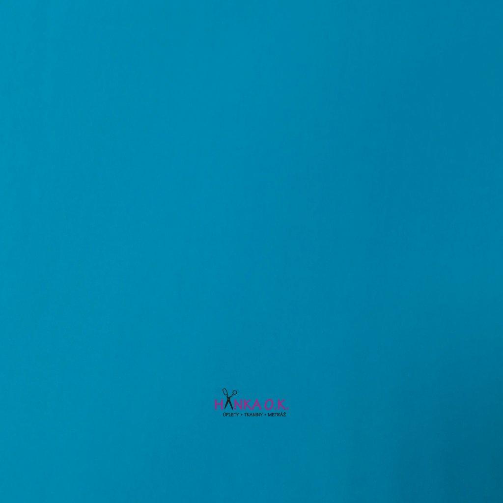 Softshell zimní 3 vrstvý pružný modrá aqua 220g