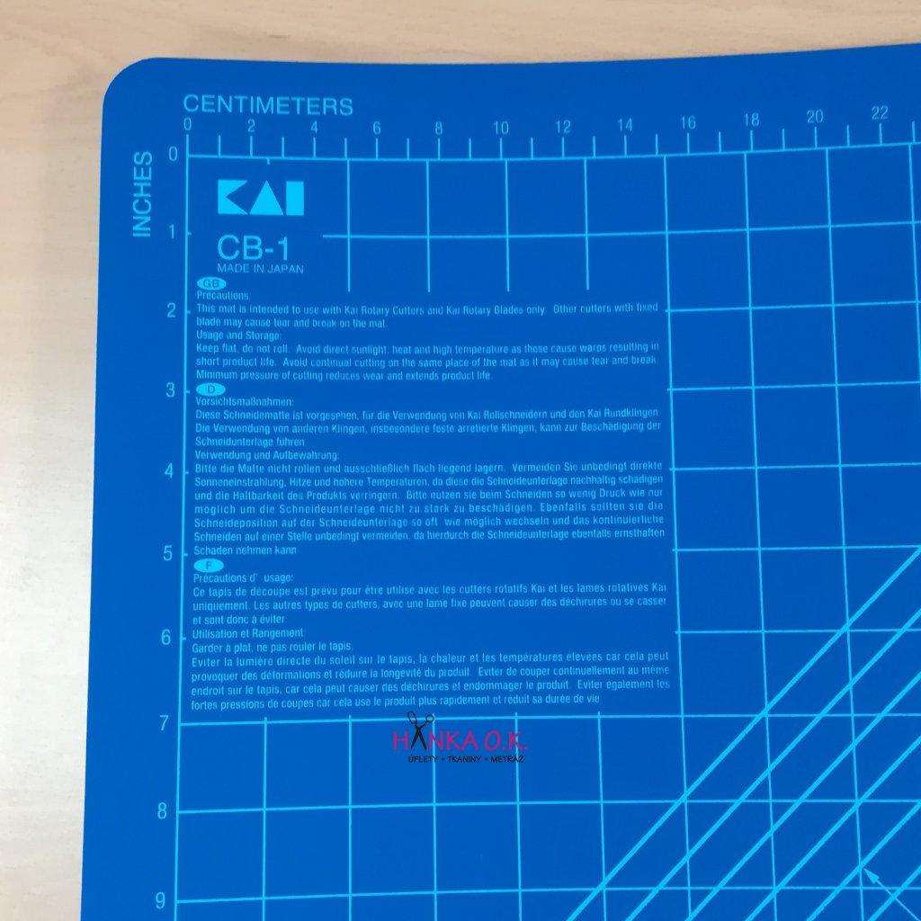 Řezací podložka KAI - velikost A1