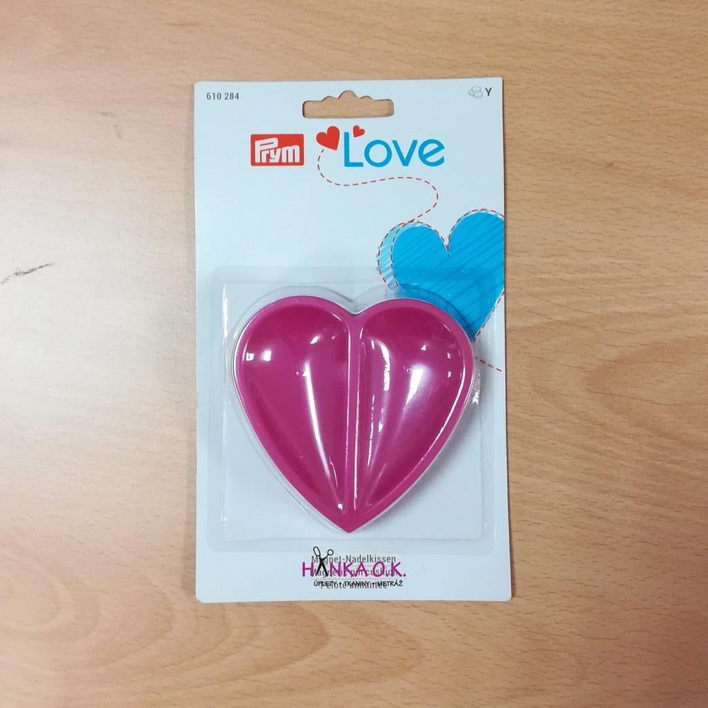 Magnetická miska na špendlíky ve tvaru srdce PRYM Love