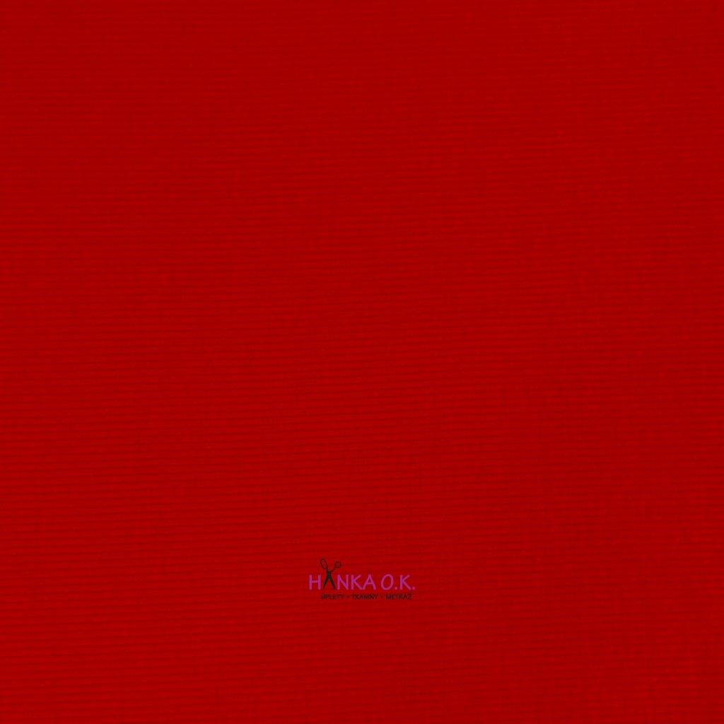 Náplet/úplet RIB žebro červená 330g