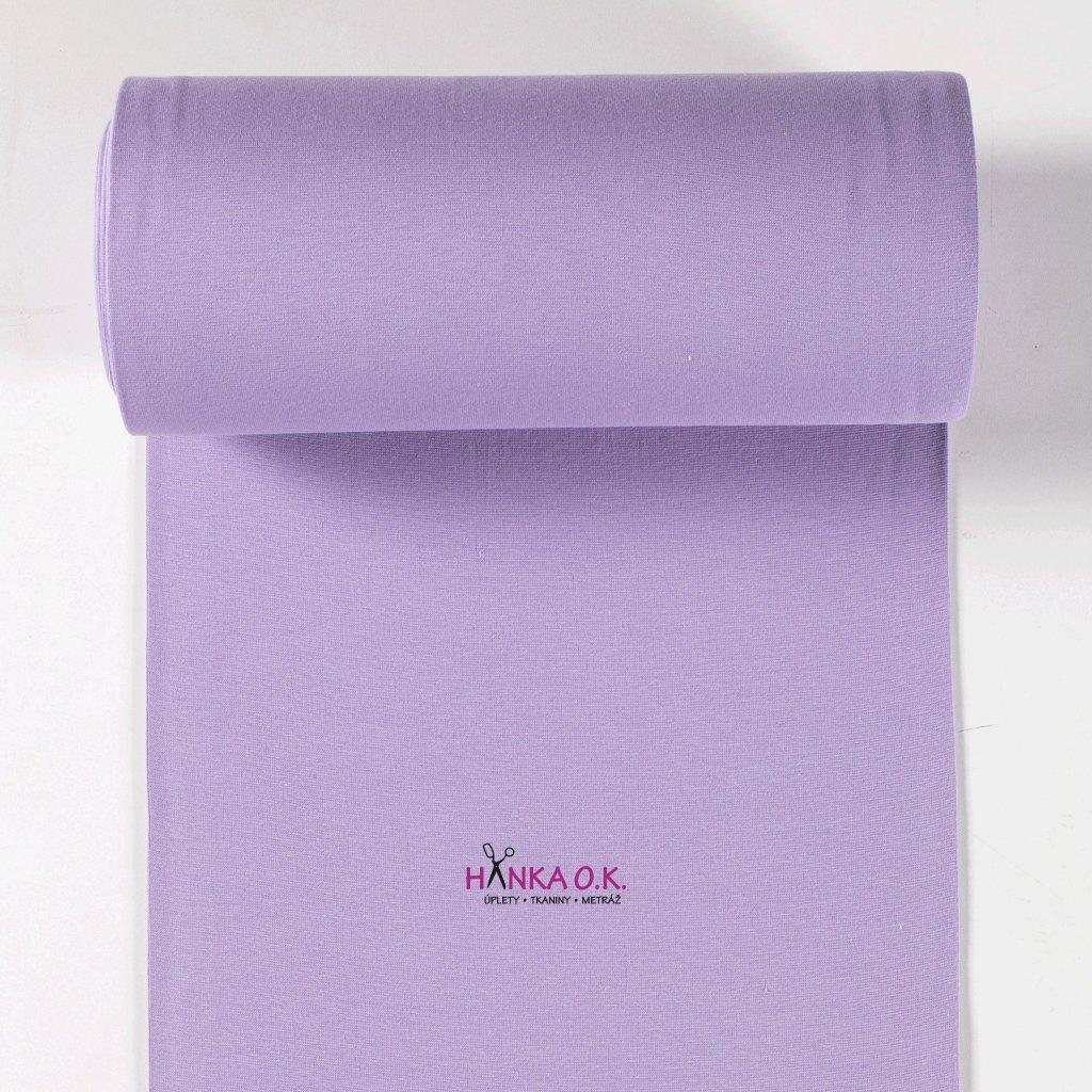 Náplet hladký fialová lila tunel 2x35cm