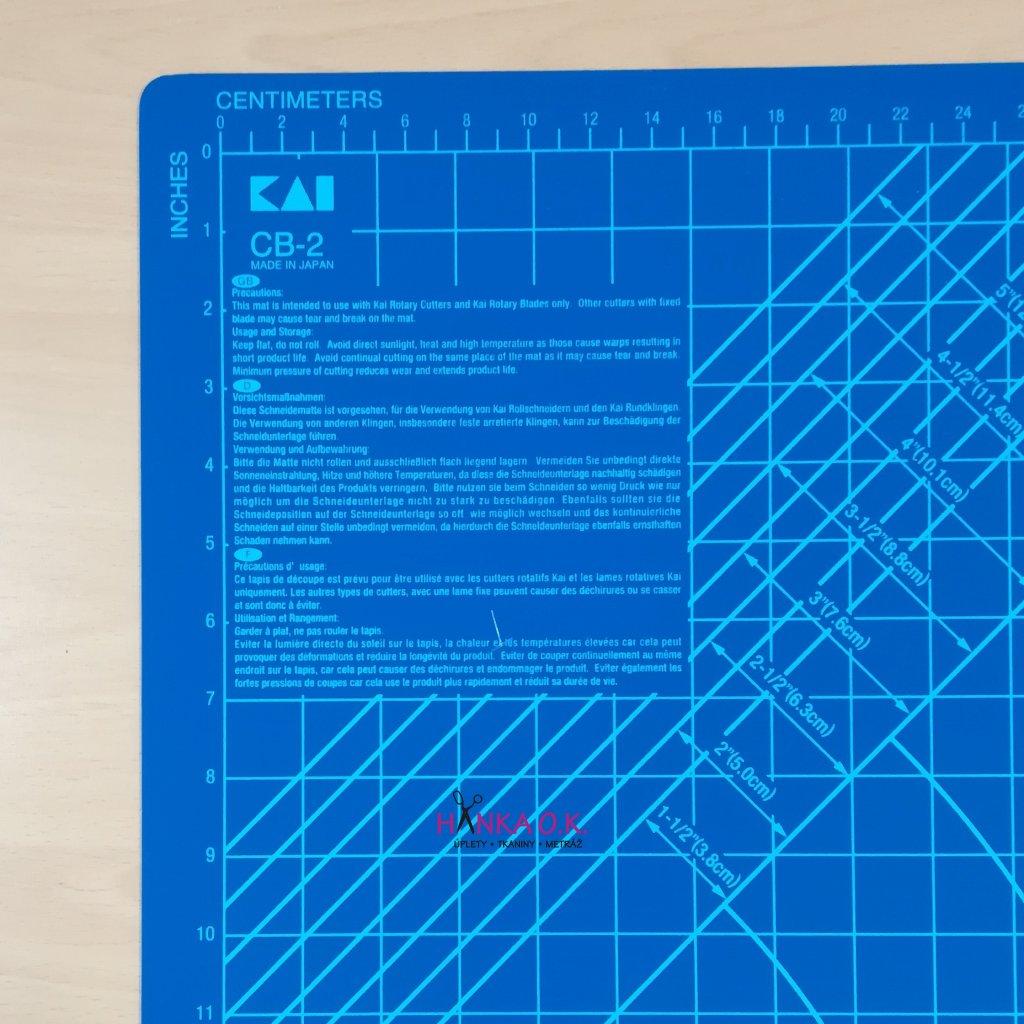 Řezací podložka KAI - velikost A2