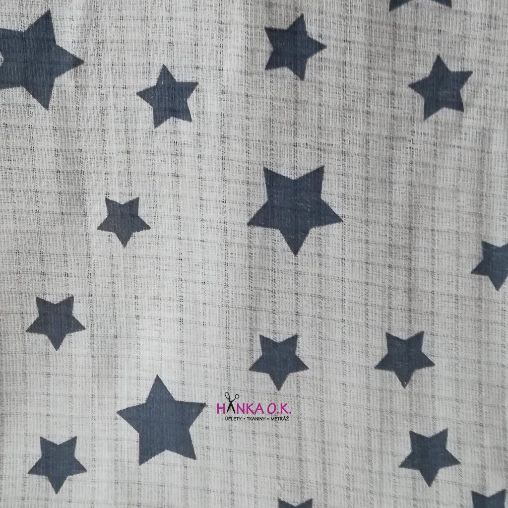 Plenkovina 115g - hvězdy velké modré