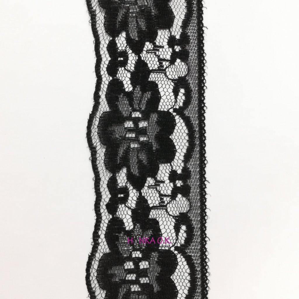Krajka černá 4,7cm