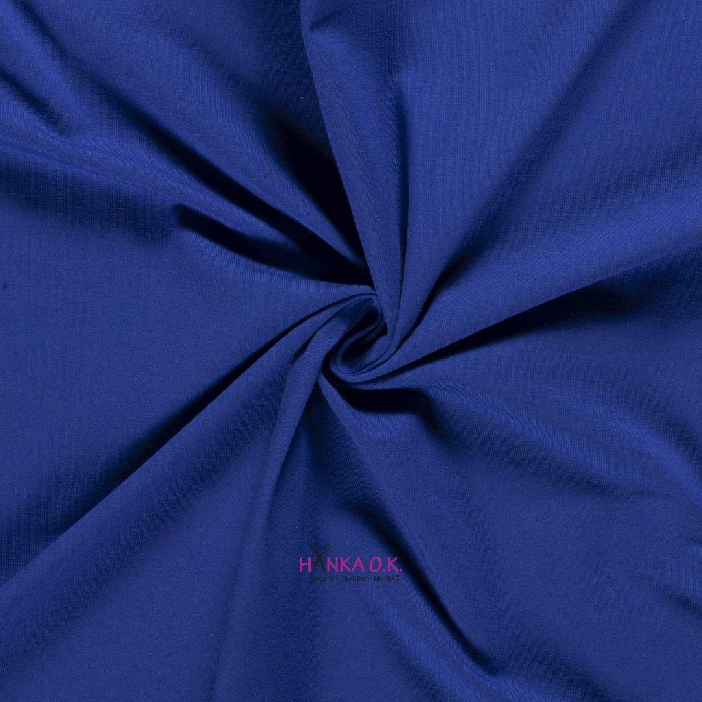 Teplákovina modrá cobalt 250g