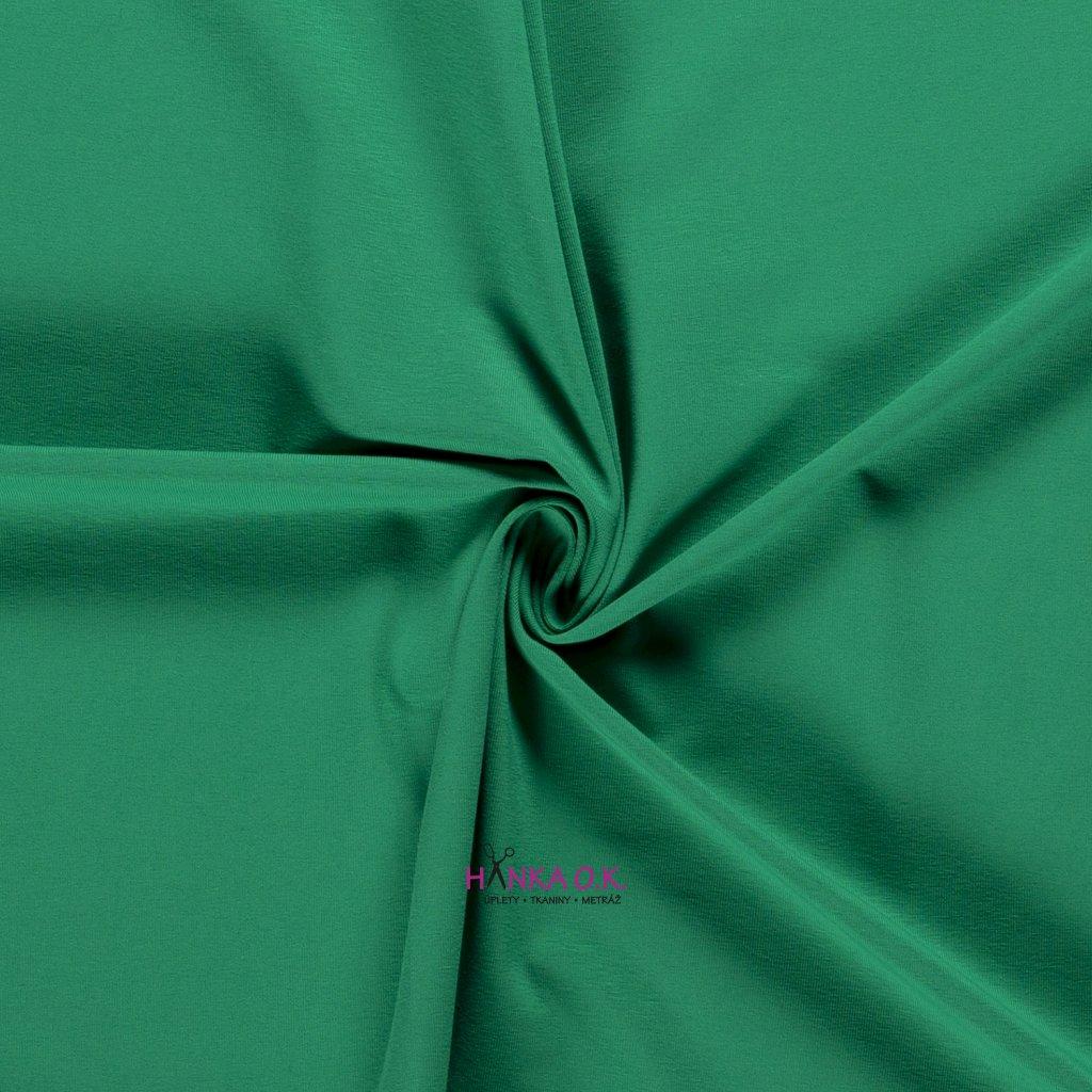 Úplet jednolícní zelená střední 235g