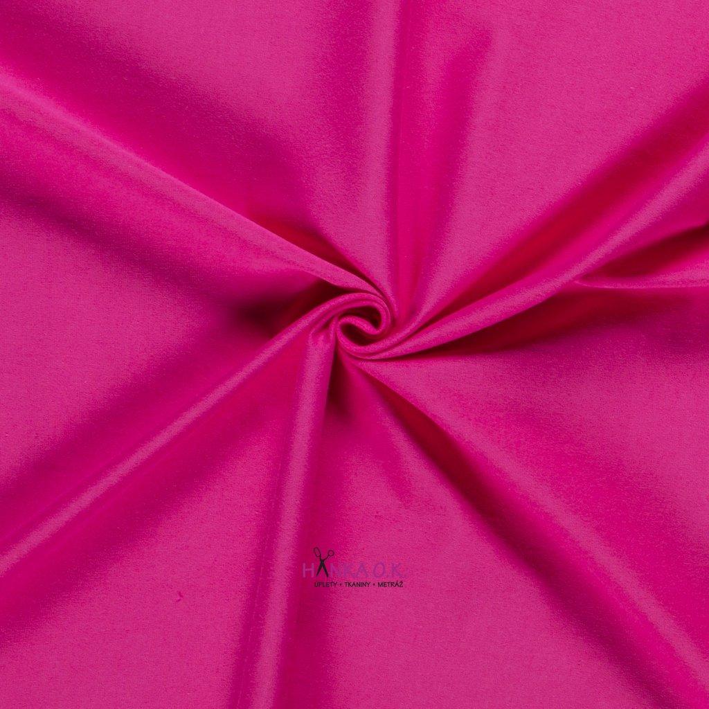 Úplet jednolícní růžová fuchsia 235g