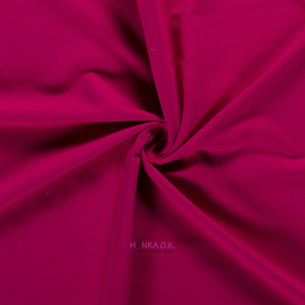 Teplákovina růžová fuchsia tmavá 250g